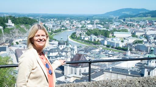 FBM Tanner Besuch Rainer Museum in der Festung Hohensalzburg am 14 06 2021