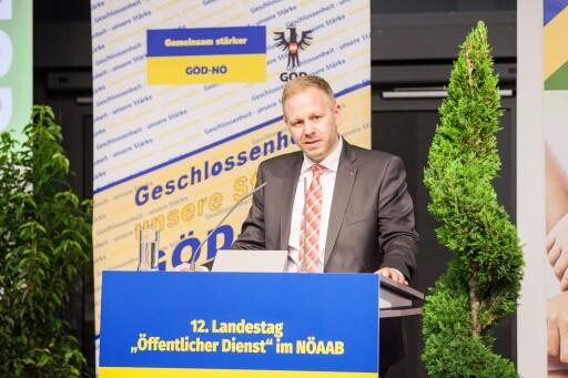 GÖD-NÖ-Vorsitzender Matthias Deiser