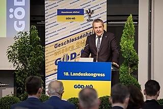 GÖD-Vorsitzender & ÖGB-Vizepräsident Dr. Norbert Schnedl