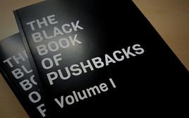 """Illegale Pushbacks und Grenzgewalt: Übergabe des """"Black Book of Pushbacks"""" am 18. Juni vor dem Innenministerium"""