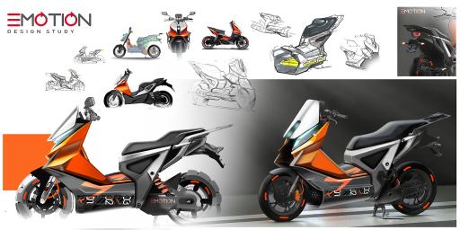 Ein neuartiges E-Zweirad als grüne Mobilitätsalternative