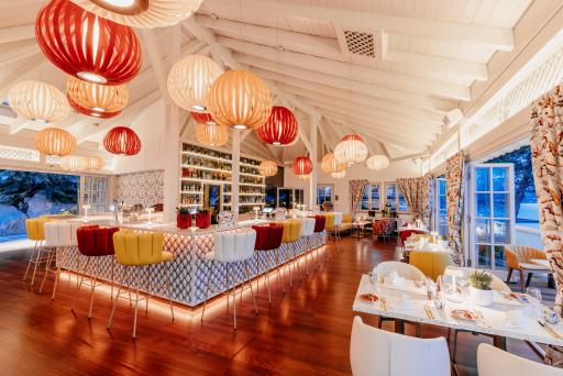 Alles ist in Bewegung - im Porto Bello & Lounge im Schloss Seefels am Wörthersee