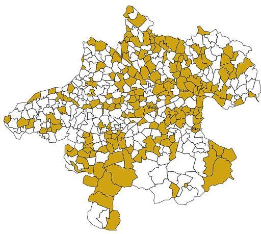Gemeinden mit Mehrheit Klimaneutralität 2040
