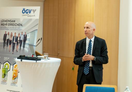 Minister Kocher zu Besuch im Österreichischen Genossenschaftsverband
