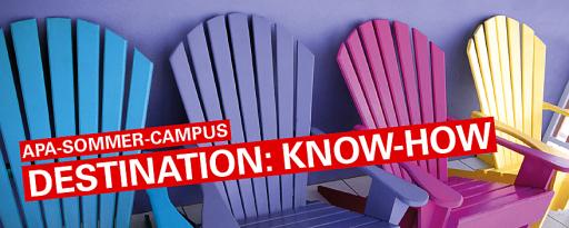 Der APA-Sommer-Campus 2021 bietet an drei Tagen im Juli gebündeltes Know-how zum Thema Schreiben für verschiedenste Kommunikationskanäle.