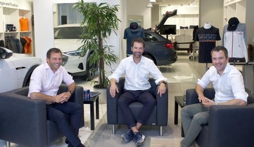 Andreas Martin, Oliver Nitz und Bernhard Loos diskutuierten beim 3. #DMSTalk