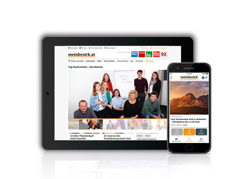 meinbezirk.at – Online-Portal der Regionalmedien Austria