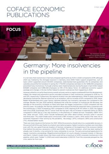 Insolvenzen in Deutschland: Der Schein trügt, mehr Pleiten in der Pipeline