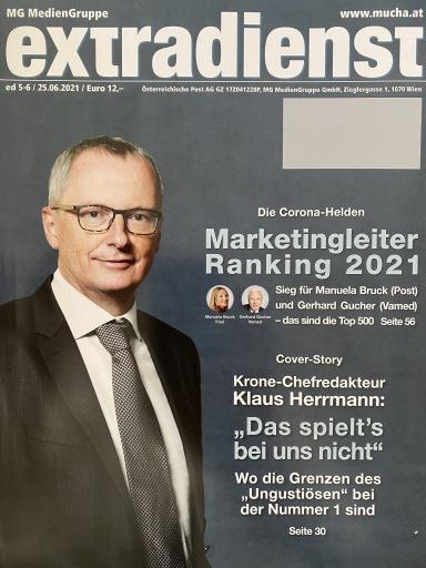 Cover der aktuellen ExtraDienst-Ausgabe.