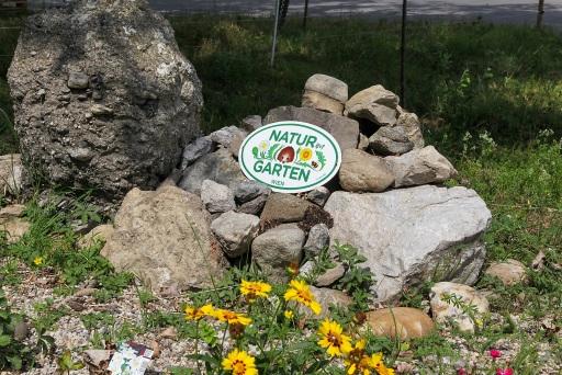 """""""Natur im Garten-Plakette"""" für LUKOIL"""