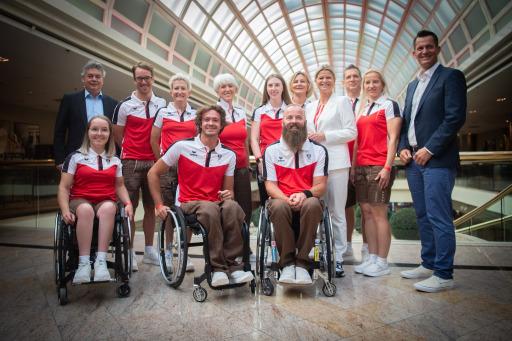 """Verabschiedung und Vereidigung des Paralympic Team Austria """"TOKYO 2020"""""""