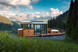 Dem Himmel so nah im Biosphärenpark Großes Walsertal. DreamAlive Sleep Lodge eröffnet in Faschina.