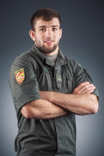 Portrait von Borchashvili - Heeressportler