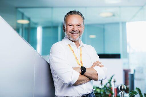 Antenne-Geschäftsführer Gottfried Bichler