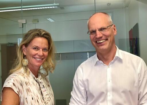 daviso-Gründerin Eva Ploner und clavis-Geschäftsführer Ulrich Müller