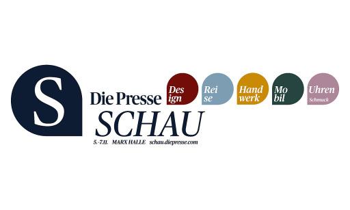 """Logo der Messe """"Die Presse Schau"""""""