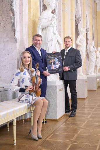 Die Vorfreude steigt – Lidia Baich, Andreas Schager und Günther Groissböck werden ein ganz besonderes Programm bei der Veranstaltung Götterklang trifft Donaugold präsentieren.