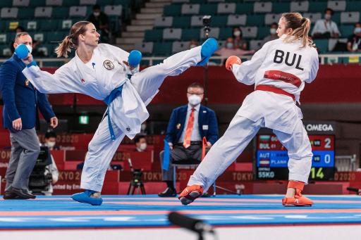 Zugsführer Bettina Plank - Karate - Olympia