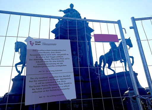 Denkmal Maria Theresia MA16 Demokratische Geschichtsscreibung & Erinnerungspraxis im Stadtraum