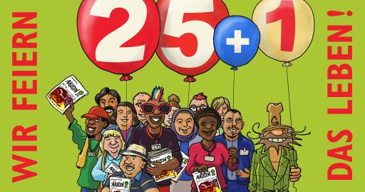 Die Wiener Straßenzeitung feiert Geburtstag