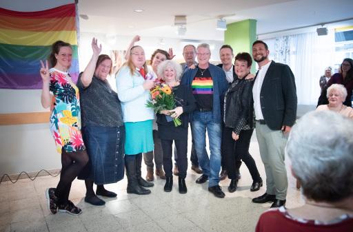 Der Regenbogen.Treff der PensionistInnenklubs feierte heuer bereits sein zweijähriges Bestehen.