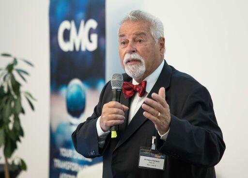Heinz Pabisch, Vorsitzender der Action Group Gigabit Fiber Access (aggfa) in der CMG Abdruck honorarfrei: © CMG/aggfa (gleissfoto.at)