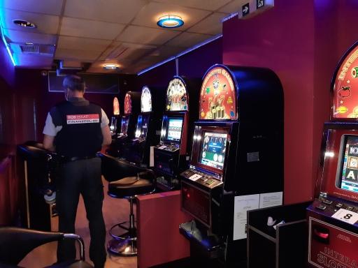 Illegales Glücksspiellokal