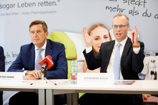Peter Hanke und Alexander Biach