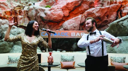 Live-Musik by Caroline Kreutzberger & Band in der Cascade Bar, Vienna Marriott Hotel