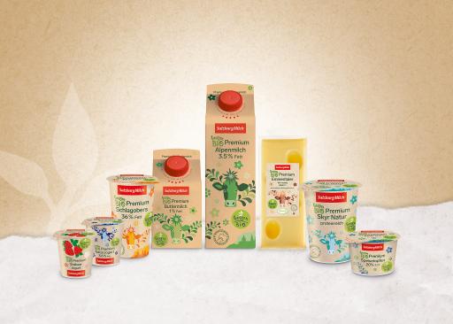 Salzburg Milch Bio Premium Produkte