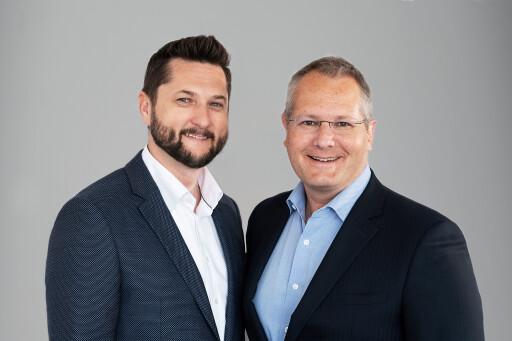 (v.l.n.r.) Damian Izdebski, Gründer und CEO von techbold; Gerald Reitmayr, COO techbold
