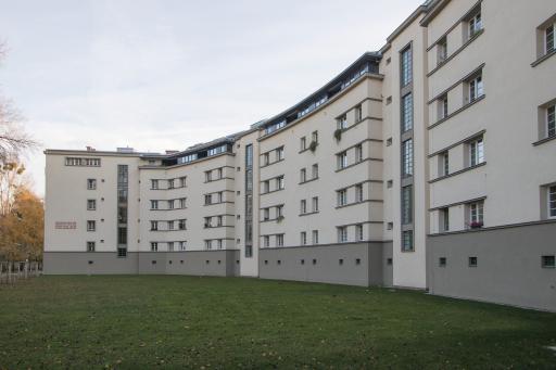 Lobende Erwähnung beim EAE-Award, der europäische Preis für energieeffiziente Gebäude: Goethehof in Wien; Foto: GSD