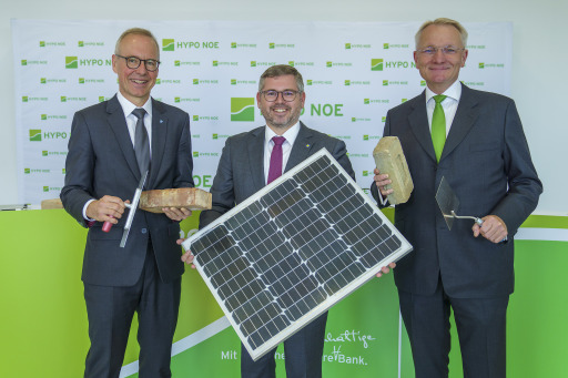 """HYPO NOE treibt nachhaltiges Wohnen voran: Erstmals belohnt der """"Grüne Wohnkredit"""" umweltfreundliches Bauen -Wohnrechner.at bekommt neue Funktionen, die zeigen was Sanierung kostet und wie viel CO2 eingespart werden kann"""