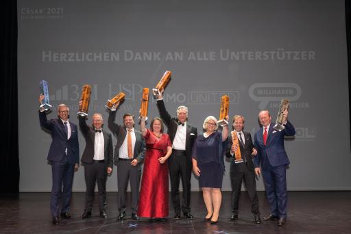v.l.n.r.: Martin Löcker, Harald Kopertz, Roland Pichler, Helga Brun, Thomas Rohr, Astrid Grantner, Robin Kalandra, Georg Spiegelfeld