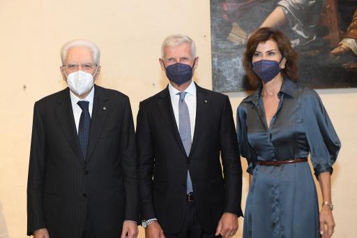 Andrea Illy bei der Leonardo Preisverleihung in Rom