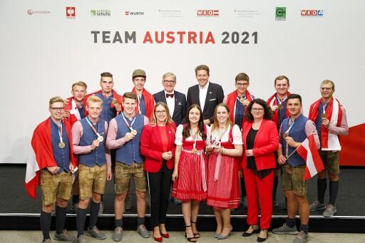 EuroSkills2021 in Graz: Team Austria