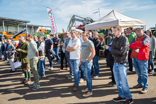 Weltweit größte Demo-Show für Kompostierung und Biomasseaufbereitung in Niederösterreich