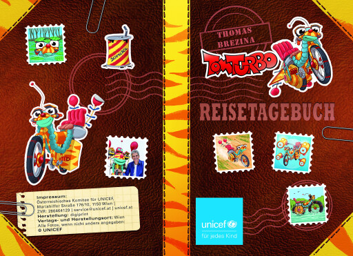 Cover des Reisetagebuchs von Post von Tom Turbo