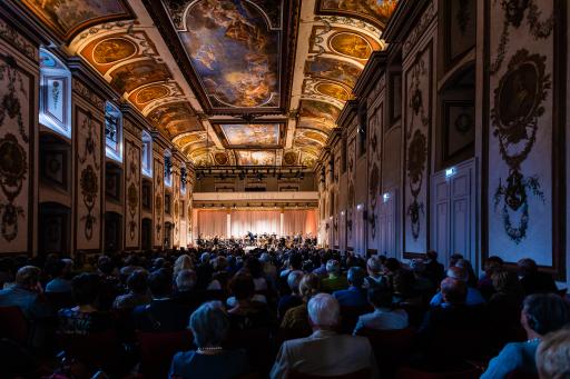 Impressionen im Haydnsaal des Schloss Esterházy