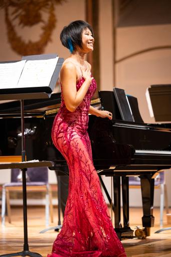 Yuja Wang bei Konzert im Haydnsaal des Schloss Esterházy