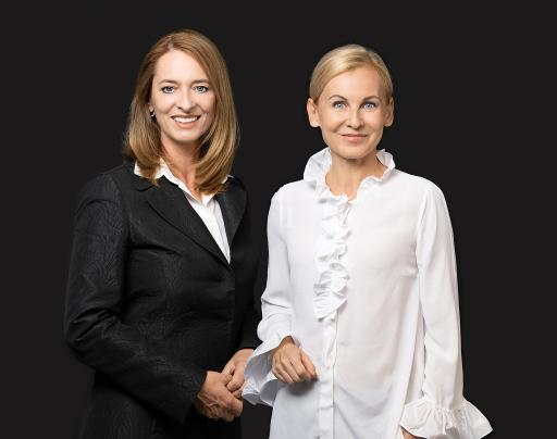 Xenia Daum und Eva Maria Kubin, Geschäftsführerinnen bei COPE Content Performance Group