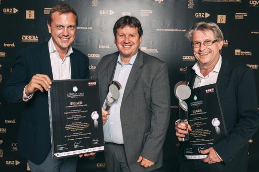 Die Lieber.Group (Geschäftseinheit ThreatGet) gewinnt den 1. Preis des Constantinus 2021 in der Kategorie Digitalisierung/Internet of Things