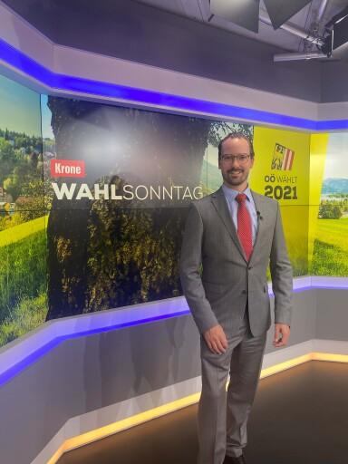 Carsten-Pieter Zimmermann News-Anchor bei krone.tv