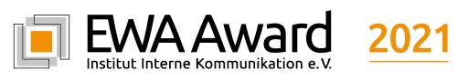 EWA Award für wertschätzende interne Kommunikation / Seit 2017 wird dieser Wettbewerb für wertschätzende Mitarbeitermedien vom im gleichen Jahr gegründeten Institut für Interne Kommunikation e.V. (IIK) ausgeschrieben. Die Abkürzung EWA steht für Empathie, Wertschätzung und Anspruch bei den inzwischen zahlreichen Print- und Digitalformaten der internen Kommunikation, die in der Corona-Pandemie nach allgemeiner Branchen-Erkenntnis an Bedeutung gewonnen habe. / EWA Award verstärkt die Online-Jury / Aber auch neue Gesichter für Print und Konzepte / Ziel: Noch höhere Qualität und Urteilstiefe / Weiterer Text über ots und www.presseportal.de/nr/135350 / Die Verwendung dieses Bildes ist für redaktionelle Zwecke unter Beachtung ggf. genannter Nutzungsbedingungen honorarfrei. Veröffentlichung bitte mit Bildrechte-Hinweis.