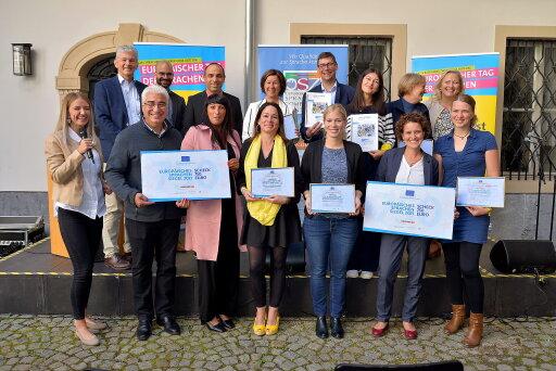Preisträger/innen des Sprachensiegels 2021