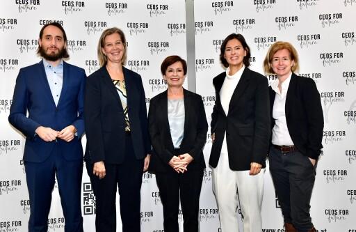 Doris Schmidauer ist ab sofort Botschafterin der CEOs FOR FUTURE Generationenplattform.